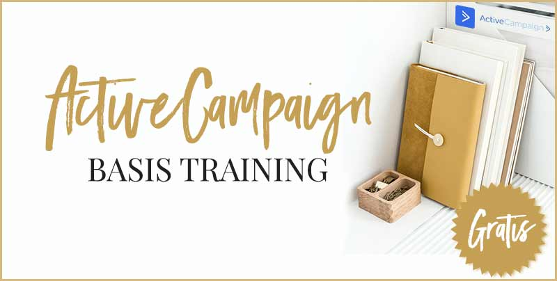 ActiveCampaign gratis basis training